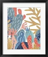 Paper Reef III Framed Print