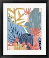 Paper Reef IV Framed Print