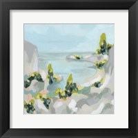 Pastel Cove II Framed Print