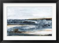 Framed Ocean Blues I