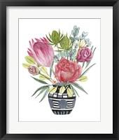 Protea Awakening I Framed Print