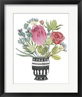 Protea Awakening III Framed Print
