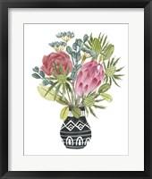 Protea Awakening IV Framed Print