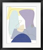 Luminous Bay I Framed Print