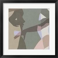 Stories In Between III Framed Print
