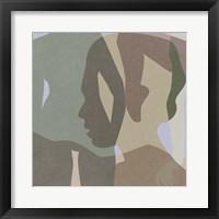 Stories In Between IV Framed Print