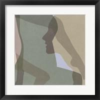 Stories In Between VI Framed Print