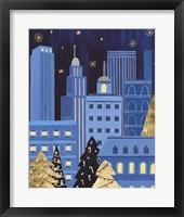 Holiday Night IV Framed Print