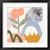 Lunar Flower I Framed Print