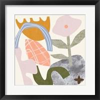 Lunar Flower II Framed Print