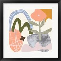 Lunar Flower III Framed Print