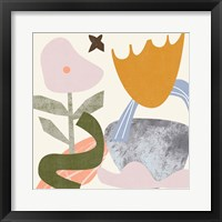 Lunar Flower IV Framed Print