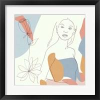 Floral Fantasies III Framed Print