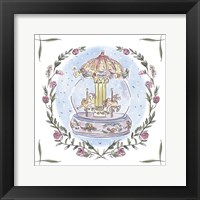 Winter Carousel IV Framed Print