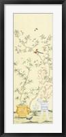 Framed Hemmerling Linen Chinoiserie I