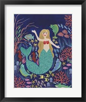 Water Queen I Framed Print