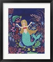Water Queen II Framed Print