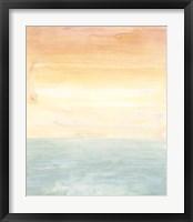 Sunny Horizon II Framed Print