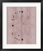 The Mystics III Framed Print