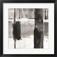 Double Row Piling I Framed Print