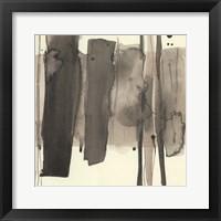 Wood Piling II Framed Print