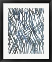 Blue Grass I Framed Print