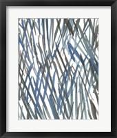 Blue Grass II Framed Print