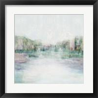 Distant Pond I Framed Print