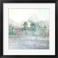 Distant Pond II Framed Print