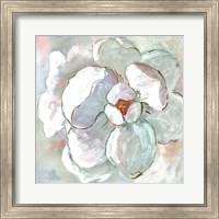 Framed Contemporary Floral I