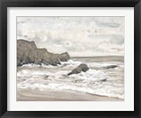 Coastal Shoreline II Framed Print