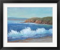 Rocky Coastline II Framed Print