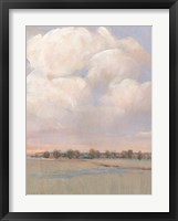 Billowing Clouds I Framed Print
