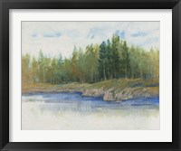 From the Banks II Framed Print