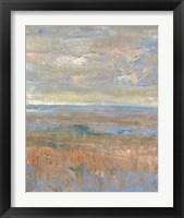 Evening Marsh II Framed Print