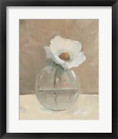 Glass Globe Still Life I Framed Print