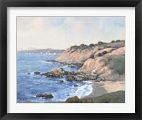 Ocean Bay I Framed Print