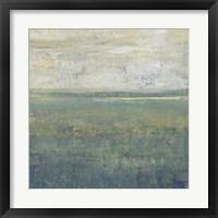 Sage Terrain I Framed Print