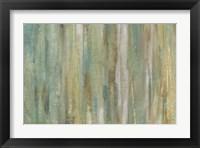 Vertical Flow I Framed Print