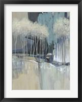 Whimsical Treeline I Framed Print