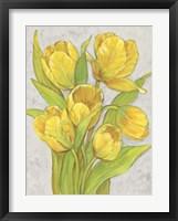 Yellow Tulips II Framed Print