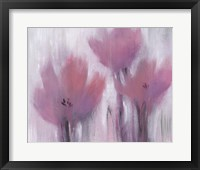 Vibrant Fuchsia Floral II Framed Print