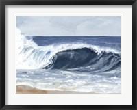 Surf Spray II Framed Print