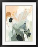 Moss & Peach I Framed Print