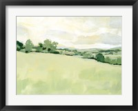 Pearly Pasture I Framed Print