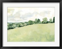 Pearly Pasture II Framed Print