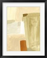 Neutral Block I Framed Print