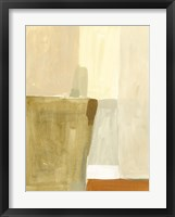 Neutral Block II Framed Print