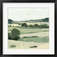 Textured Countryside II Framed Print