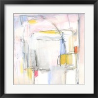 Pastel Meld II Framed Print